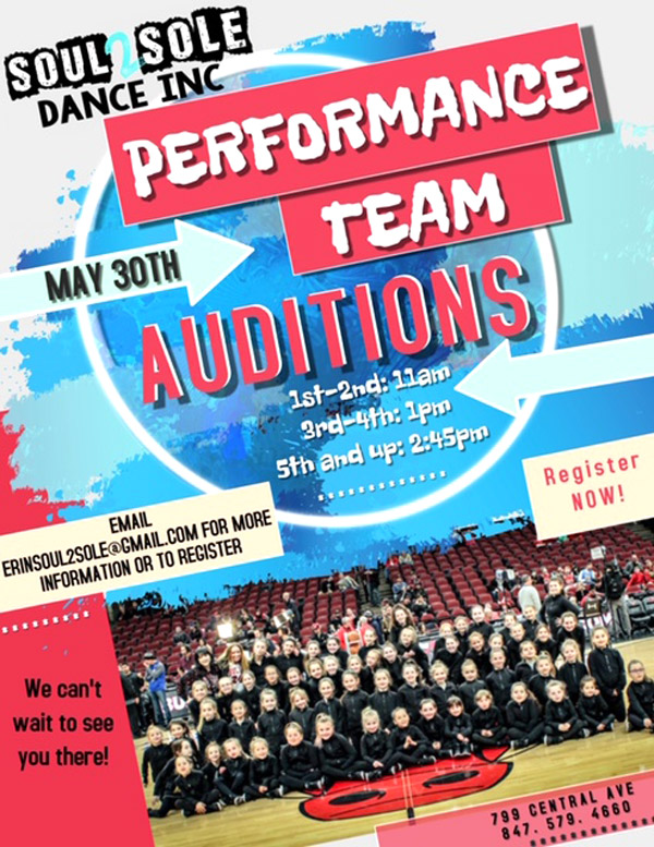 performance team auditions