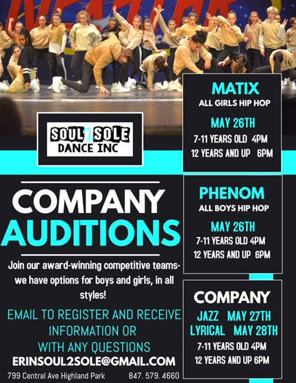 company auditions image